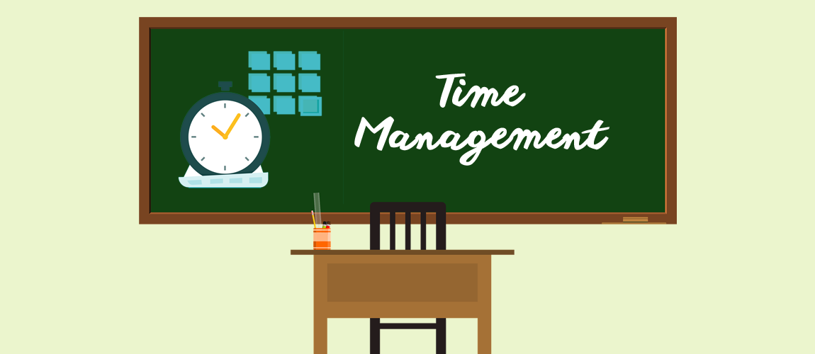 time management steps for school children